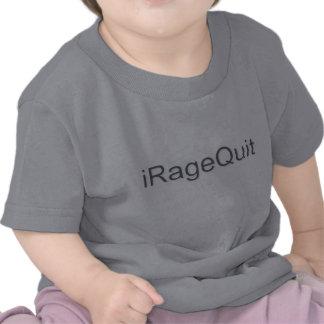 rabia del iRageQuit que abandona videojugador Camisetas