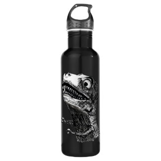 Rabia Meme - botella de T-Rex