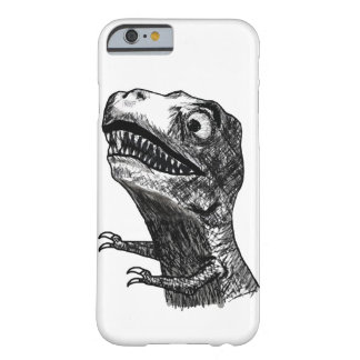 Rabia Meme - caso de T-Rex del iPhone 6 Funda De iPhone 6 Barely There