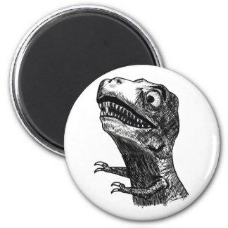 Rabia Meme - imán de T-Rex