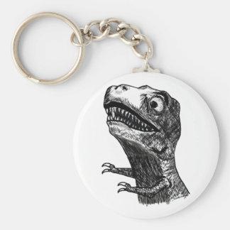 Rabia Meme - llavero de T-Rex