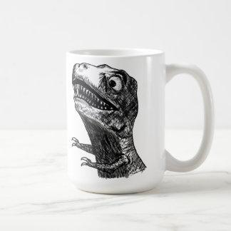 Rabia Meme - taza de T-Rex