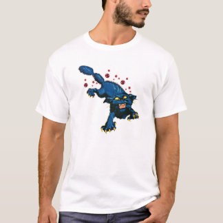 Rabid Black Cat T-Shirt
