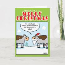 Rabid Cow Holiday Card