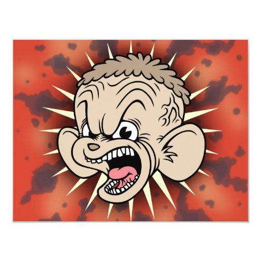 Rabid Hamster 4.25x5.5 Paper Invitation Card