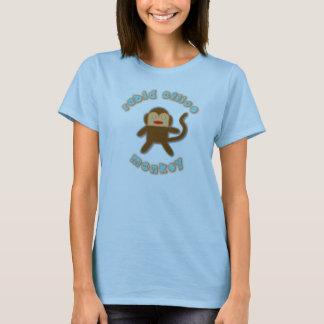Rabid Office Monkey . . . for her T-Shirt