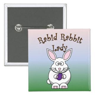Rabid Rabbit Button 4