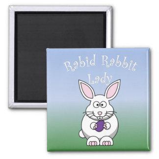 Rabid Rabbit Magnet 1