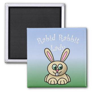 Rabid Rabbit Magnet 2