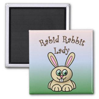 Rabid Rabbit Magnet 3