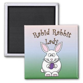 Rabid Rabbit Magnet 4