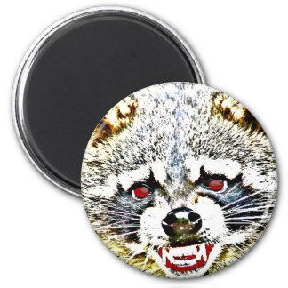Rabid Raccoon Magnet