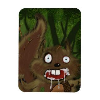 Rabid Squirrel Magnet