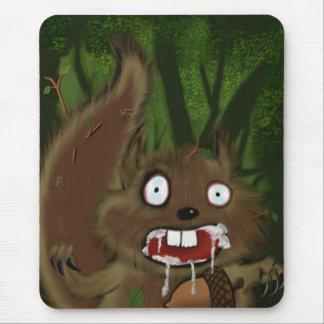 Rabid Squirrel Mouse Pad