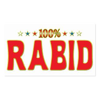 Rabid Star Tag Business Card Templates