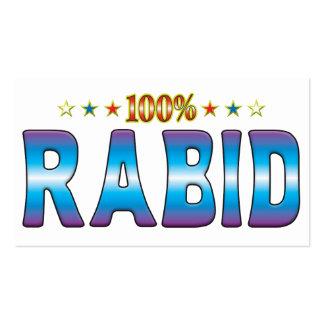 Rabid Star Tag v2 Business Card
