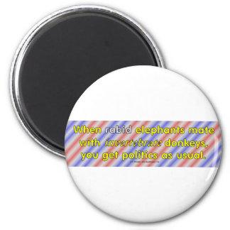 RabidInvertebrate Refrigerator Magnet