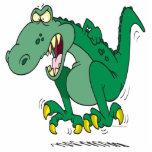 rabieta enojada de Dino del t-rex Esculturas Fotograficas