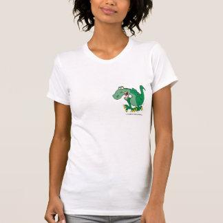 rabieta enojada de Dino del t-rex Polera