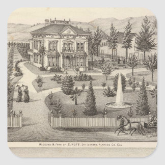 Rabieta residencias de Owen Pegatina