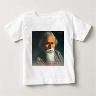 Rabindranath Tagore Love Quote Gifts & Cards Baby T-Shirt