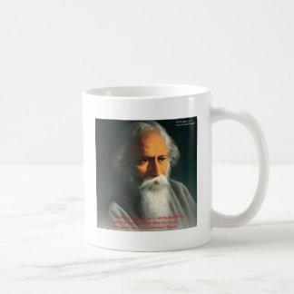 Rabindranath Tagore Love Quote Gifts & Cards Coffee Mug