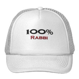 Rabino del 100 por ciento gorras de camionero