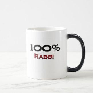 Rabino del 100 por ciento taza mágica