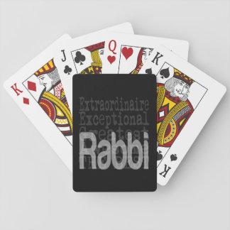 Rabino Extraordinaire Barajas De Cartas