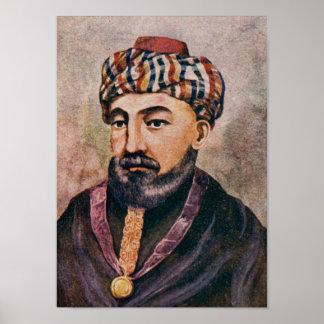 Rabino Moses Maimonides - el Rambam Póster