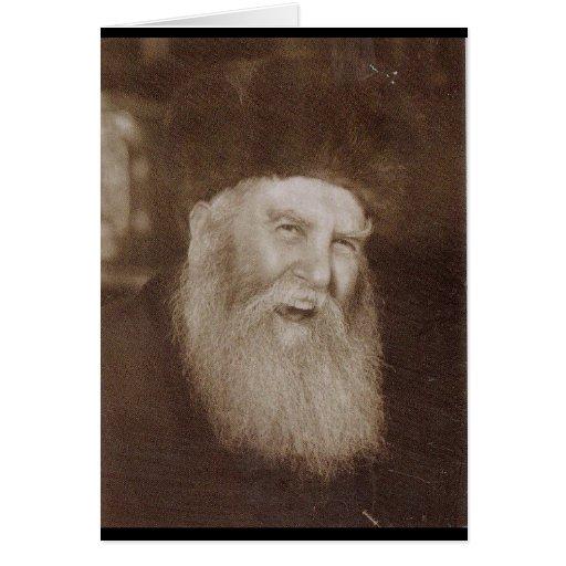 Rabino Yosef Yitzchak Schneersohn Tarjeta De Felicitación