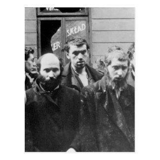 Rabinos judíos. Copia de la imagen photograph_War Tarjetas Postales