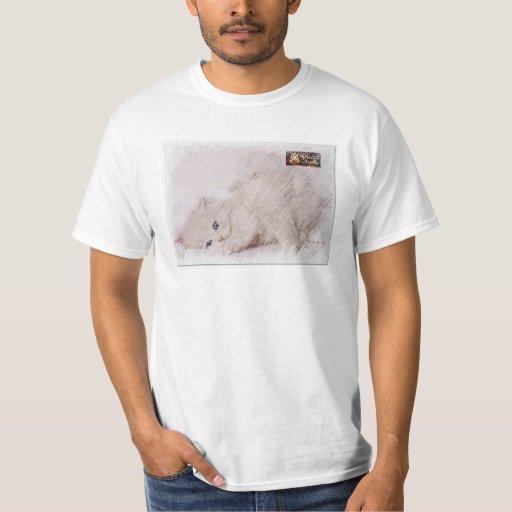 Rabisco do Gatinho Camisas