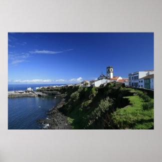 Rabo de Peixe - Azores Poster