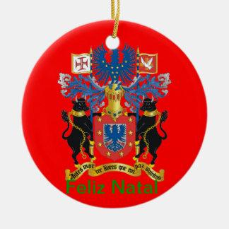 Rabo de Peixe* Ornament Ornamentos De Navidad