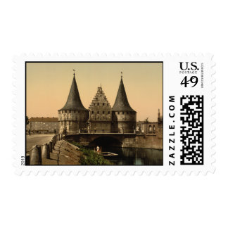 Rabot Gate Ghent Belgium Stamps