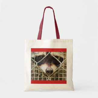 RACCON   BUDGET   TOTE customizable