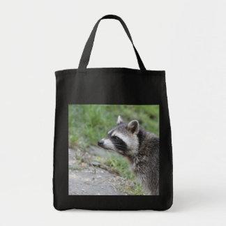 raccoon 1115 tote bag