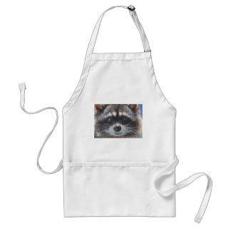 Raccoon #1 adult apron