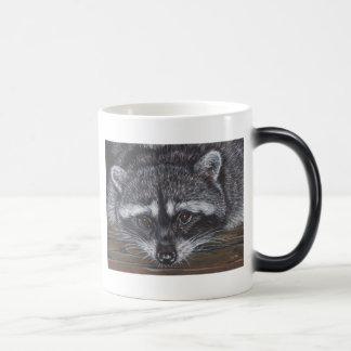 Raccoon #2 coffee mug