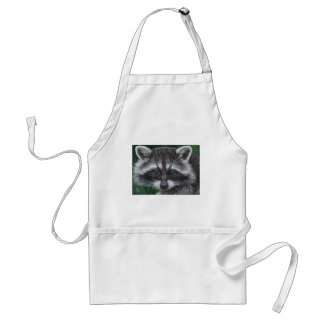 Raccoon #3 adult apron