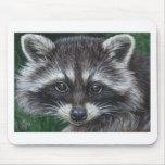 Raccoon #3 mouse pad