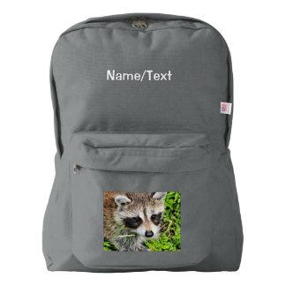 raccoon american apparel™ backpack