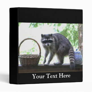 Raccoon and Cookie Jar Binder