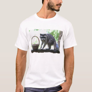 Raccoon and Cookie Jar T-Shirt