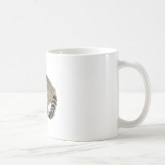Raccoon at Attention Coffee Mug