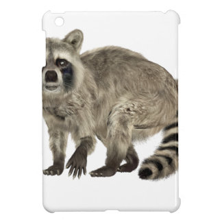 Raccoon at Attention iPad Mini Cover