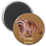 RACCOON BABY Collection Refrigerator Magnets