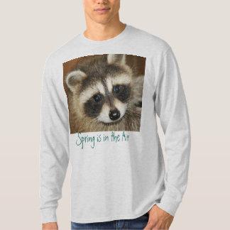 Raccoon Baby Season is upon us T-Shirt