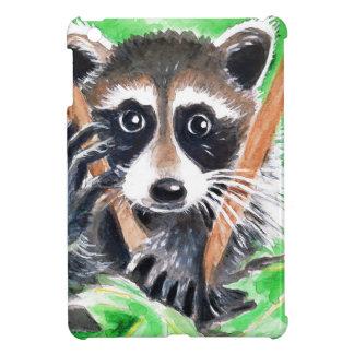 Raccoon Bandit iPad Mini Cover